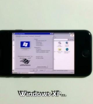 超级复古!让iPhone7运行Windows XP