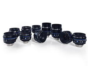 10款新定焦 蔡司推出新CP.3 XD电影镜头