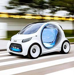 德国大众推智能汽车 竟没有方向盘
