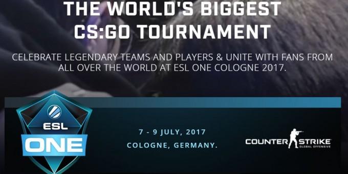 ESL宣布2017年将举办全球最大CSGO赛事
